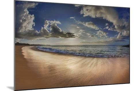 Two Mile Long Papohaku Beach, on West End of Molokai Island-Richard Cooke-Mounted Photographic Print