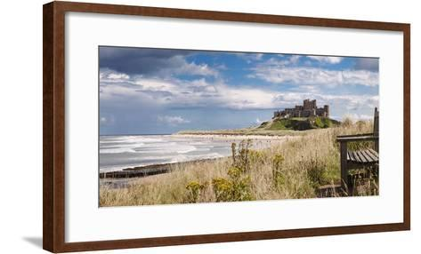 Bamburgh Castle; Northumberland, England-Design Pics Inc-Framed Art Print
