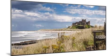 Bamburgh Castle; Northumberland, England-Design Pics Inc-Mounted Photographic Print