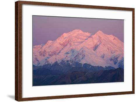 Mt.Mckinley as Seen from Eielson Visitor Center Denali National Park Alaska-Design Pics Inc-Framed Art Print