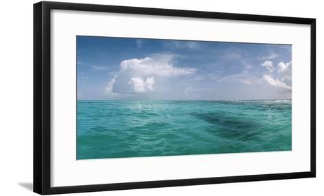 The Waters Off Isla Contoy National Park, Off the Northeast Tip of the Yucatan Peninsula-Macduff Everton-Framed Art Print