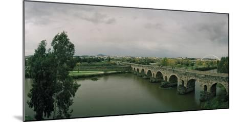 The Puente Roman, an Ancient Roman Bridge over the Guadiana River, and Lusitania Bridge Beyond-Macduff Everton-Mounted Photographic Print