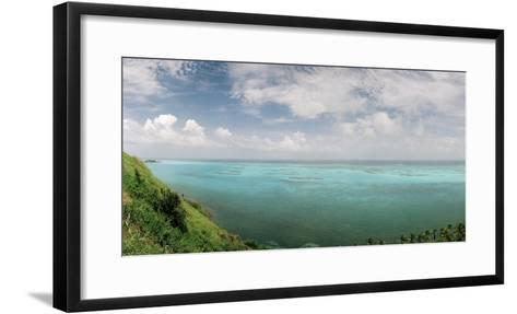A View from South East Hill on Old Providence Island-Macduff Everton-Framed Art Print