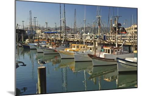 Fishermen's Terminal; San Francisco California United States of America-Design Pics Inc-Mounted Photographic Print