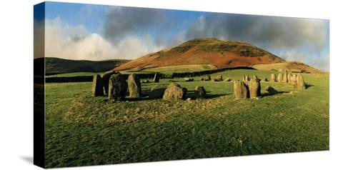 Swinside Stone Circle, a Bronze Age Stone Circle of 55 Stones Set in a 90 Foot Diameter Circle-Macduff Everton-Stretched Canvas Print