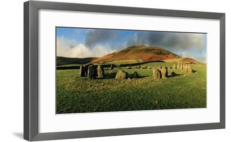 Swinside Stone Circle, a Bronze Age Stone Circle of 55 Stones Set in a 90 Foot Diameter Circle-Macduff Everton-Framed Art Print