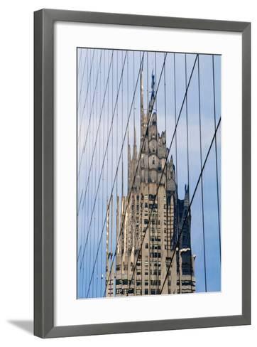 Chrysler Building's Reflection,; Murray Hill, Manhattan, New York, USA-Design Pics Inc-Framed Art Print