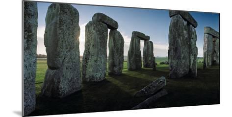 Standing Stones and Lintels of Stonehenge at Sunrise-Macduff Everton-Mounted Photographic Print