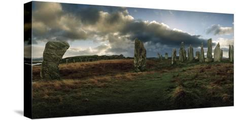 The Callanish Stones, a Megalithic Stone Circle Site-Macduff Everton-Stretched Canvas Print