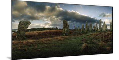 The Callanish Stones, a Megalithic Stone Circle Site-Macduff Everton-Mounted Photographic Print