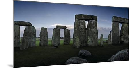 A View of Stonehenge from the Center of the Circle-Macduff Everton-Mounted Photographic Print
