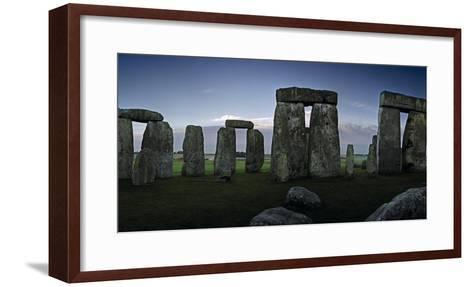 A View of Stonehenge from the Center of the Circle-Macduff Everton-Framed Art Print