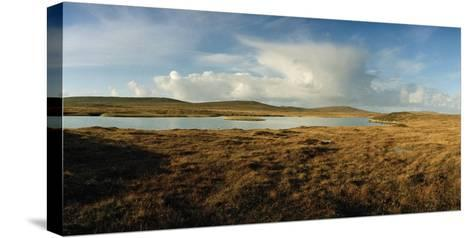 A Tranquil Loch or Lake in a Rural Landscape-Macduff Everton-Stretched Canvas Print