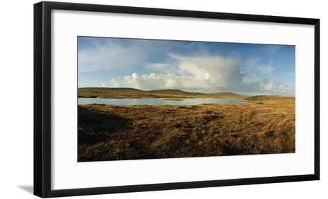 A Tranquil Loch or Lake in a Rural Landscape-Macduff Everton-Framed Art Print