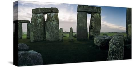 A View from the Center Section of Stonehenge-Macduff Everton-Stretched Canvas Print