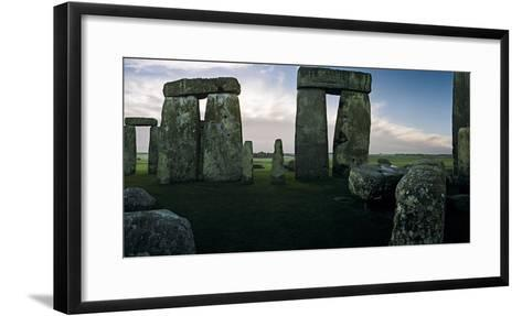 A View from the Center Section of Stonehenge-Macduff Everton-Framed Art Print