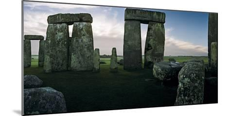A View from the Center Section of Stonehenge-Macduff Everton-Mounted Photographic Print