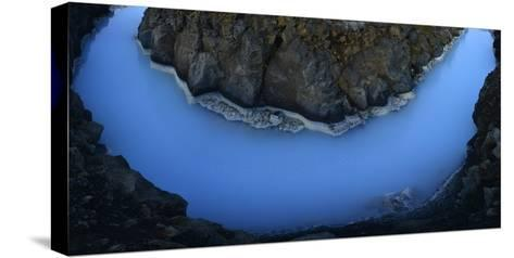 The Blue Lagoon-Raul Touzon-Stretched Canvas Print