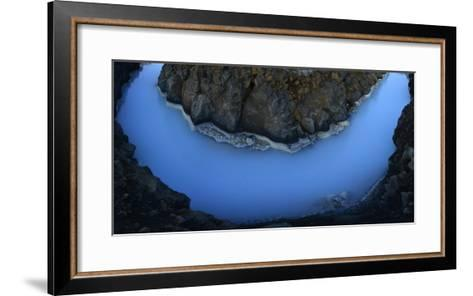 The Blue Lagoon-Raul Touzon-Framed Art Print
