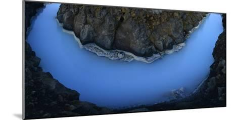 The Blue Lagoon-Raul Touzon-Mounted Photographic Print