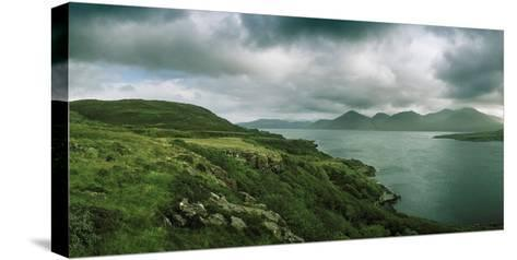 Overlooking a Portion of Loch Na Keal-Macduff Everton-Stretched Canvas Print