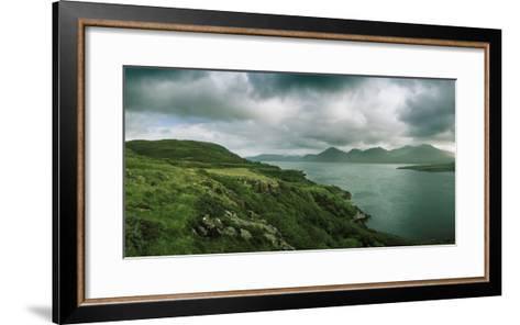 Overlooking a Portion of Loch Na Keal-Macduff Everton-Framed Art Print