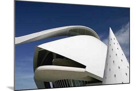 Palau De Les Arts Reina Sofia Building by Santiago Calatrava-Design Pics Inc-Mounted Photographic Print