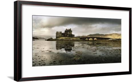 Eilean Donan Castle, Built on a Rocky Promontory at the Meeting Point of Three Sea Lochs-Macduff Everton-Framed Art Print