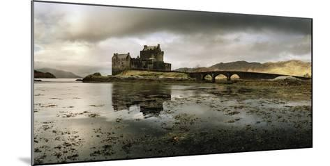Eilean Donan Castle, Built on a Rocky Promontory at the Meeting Point of Three Sea Lochs-Macduff Everton-Mounted Photographic Print