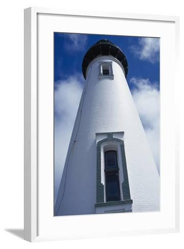 Low Angle View of Lighthouse-Design Pics Inc-Framed Art Print