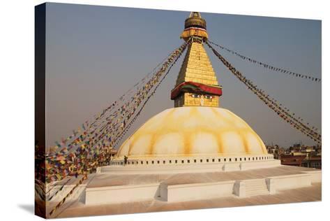 The Stupa at Bodhnath, Kathmandu, Nepal-Design Pics Inc-Stretched Canvas Print