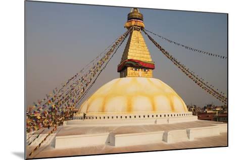The Stupa at Bodhnath, Kathmandu, Nepal-Design Pics Inc-Mounted Photographic Print