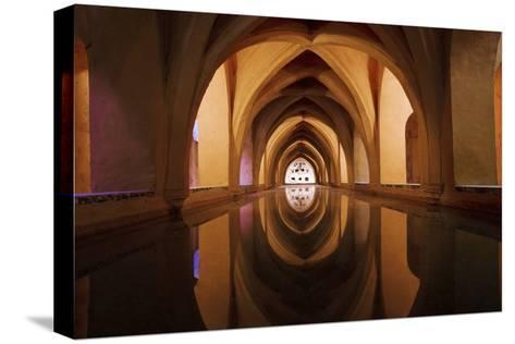 Bath of Dona Maria De Padilla at Alcazar-Design Pics Inc-Stretched Canvas Print