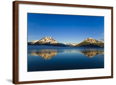 Panoramic View of Turnagain Arm and Kenai Mountains Near Girdwood-Design Pics Inc-Framed Art Print