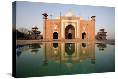 Agra, India; Exterior of the Taj Mahal-Design Pics Inc-Stretched Canvas Print