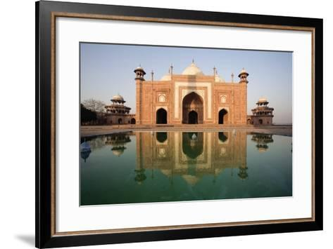 Agra, India; Exterior of the Taj Mahal-Design Pics Inc-Framed Art Print