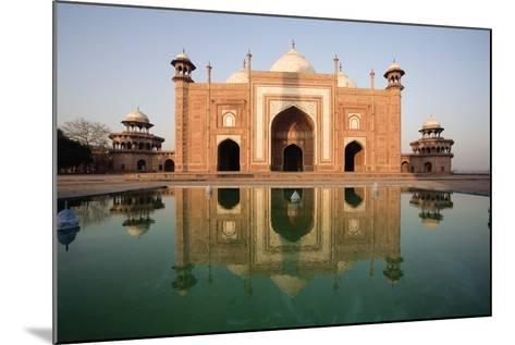 Agra, India; Exterior of the Taj Mahal-Design Pics Inc-Mounted Photographic Print