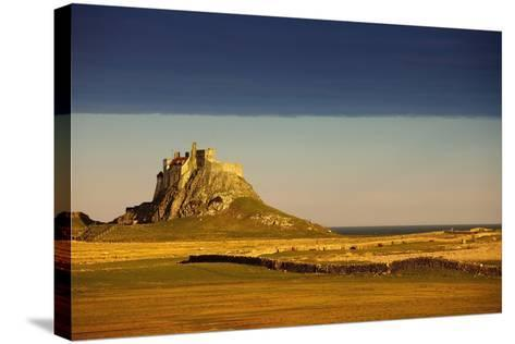 Lindisfarne, Northumberland, England; a Castle on the Tidal Island also known as Holy Island-Design Pics Inc-Stretched Canvas Print