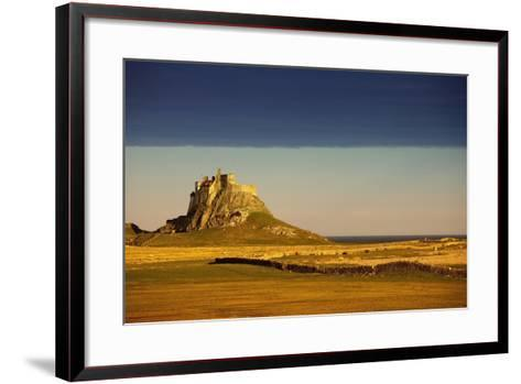 Lindisfarne, Northumberland, England; a Castle on the Tidal Island also known as Holy Island-Design Pics Inc-Framed Art Print