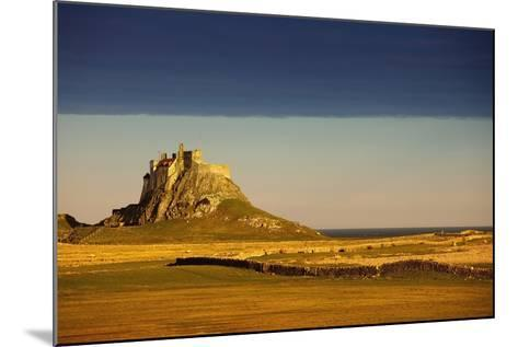 Lindisfarne, Northumberland, England; a Castle on the Tidal Island also known as Holy Island-Design Pics Inc-Mounted Photographic Print
