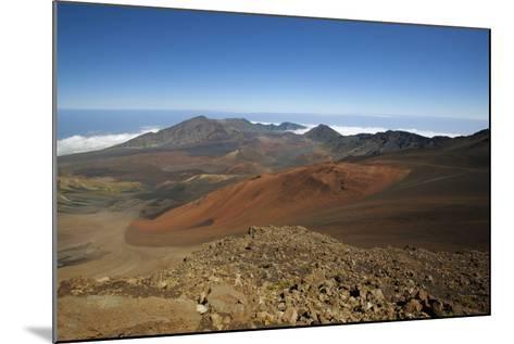 Hawaii, Maui, Haleakala Crater Landscape-Design Pics Inc-Mounted Photographic Print