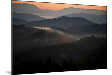 View of Cinque Terra National Park at Sunrise. Liguria, Italy Carlos Sanchez Pereyra-Design Pics Inc-Mounted Photographic Print
