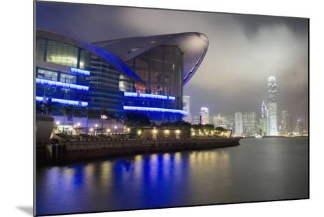National Convention Center at Night, Long Exposure Elena Roman Durante-Design Pics Inc-Mounted Photographic Print