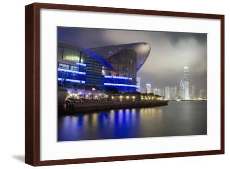 National Convention Center at Night, Long Exposure Elena Roman Durante-Design Pics Inc-Framed Art Print