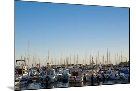 Boats in Alcudia's Port, Mallorca, Balearic Islands, Spain Dosfotos-Design Pics Inc-Mounted Photographic Print