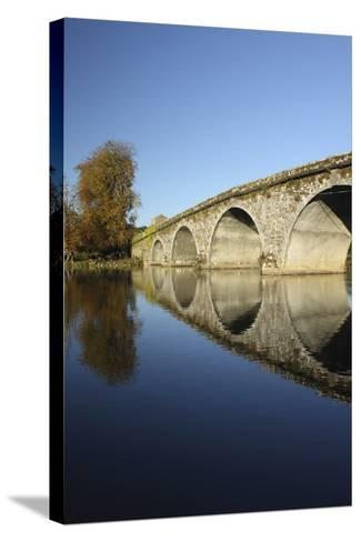 Bridge over River Nore; Bennettsbridge, County Kilkenny, Ireland-Design Pics Inc-Stretched Canvas Print