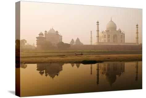 Taj Mahal in Early Morning; Agra, India-Design Pics Inc-Stretched Canvas Print