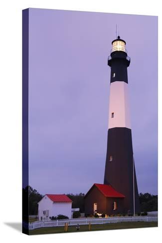 Lighthouse, Tybee Island, Georgia, USA-Design Pics Inc-Stretched Canvas Print
