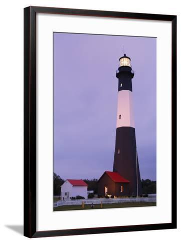 Lighthouse, Tybee Island, Georgia, USA-Design Pics Inc-Framed Art Print