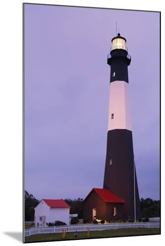 Lighthouse, Tybee Island, Georgia, USA-Design Pics Inc-Mounted Photographic Print
